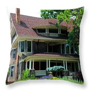Old West End  Purple 4 Throw Pillow