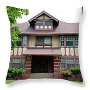 Old West End Purple 5 Throw Pillow