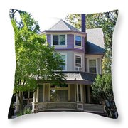 Old West End Purple 6 Throw Pillow