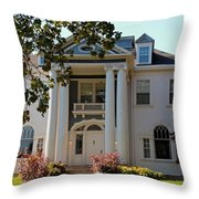 Old West End White 1- II Throw Pillow