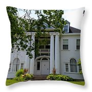 Old West End White 1 Throw Pillow