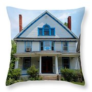 Old West End White 10 Throw Pillow