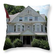 Old West End White 2 Throw Pillow