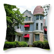 Old West End White 7 Throw Pillow