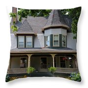 Old West End White 8 Throw Pillow