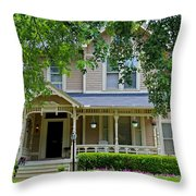 Old West End White 9 Throw Pillow
