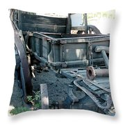 Old West Wagon Train Down Throw Pillow