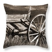 Old Wheels 2 Throw Pillow