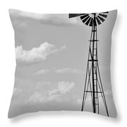 Old Windmill II Throw Pillow