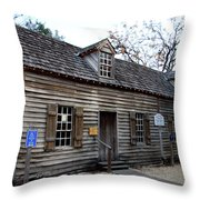Old Wine Store - St Augustine Throw Pillow