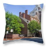 Olde City Tavern  - Philadelphia Pa Throw Pillow
