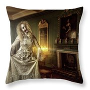 Olde Maiden Throw Pillow