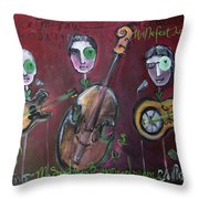 Olde Town Swing Band Throw Pillow