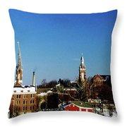 Oldenburg Indiana Throw Pillow