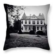 Older Building In Frederick Maryland Throw Pillow