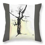 Oldest Tree Throw Pillow