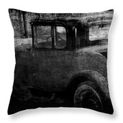 Oldie 1 Bw Throw Pillow