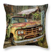 Oldie But Goodie 1959 Dodge Pickup Truck Throw Pillow