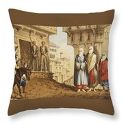 Oldmixon, John Gleanings From Piccadilly To Pera. Throw Pillow