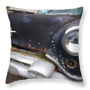 Olds Front End Throw Pillow