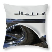 Oldsmobile Holiday Emblem Throw Pillow