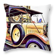 Oldtimer 2 Throw Pillow