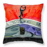 Oldtimer Prague 5 Throw Pillow