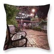 Oldtown Auburn Park  Throw Pillow