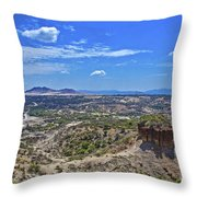 Olduvai Gorge - The Cradle Of Mankind Throw Pillow