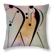 Ole Folks Throw Pillow by Ikahl Beckford