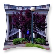 Ole Miss Campus Throw Pillow