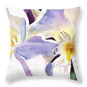 Oleander By Irina Sztukowski Throw Pillow