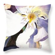 Oleander Close Up  Throw Pillow