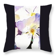 Oleander Flower By Irina Sztukowski Throw Pillow
