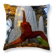 Oleeta Of The Timucua Throw Pillow