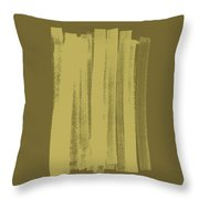 Olive On Olive 1 Throw Pillow