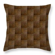 Olive Texture Study Throw Pillow