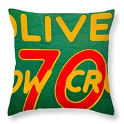 Oliver 70 Row Crop Throw Pillow