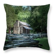 Oliver Cabin Throw Pillow
