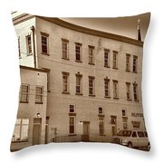 Oliver Gospel Mission Throw Pillow