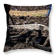 Oliver Plow 813 Throw Pillow
