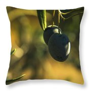 Olives #2 Throw Pillow