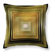 Olives And Cream Throw Pillow