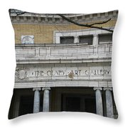 Olney Art Gallery 2 Throw Pillow