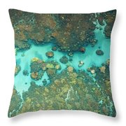Olowalu Coral Throw Pillow