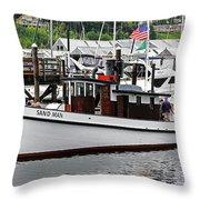 Olympia's Percival Landing Throw Pillow