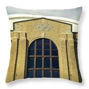 Olympic Center  Throw Pillow
