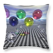 Olympic Dreams Throw Pillow