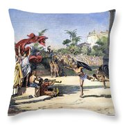 Olympic Games Throw Pillow