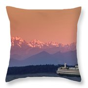 Olympic Journey Throw Pillow